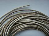 Поводок для динамиков Серебро - 1.5мм. 24 пряди, фото 3
