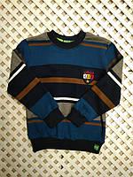 Детская теплая кофта бобка LIFE на мальчика 2-8лет