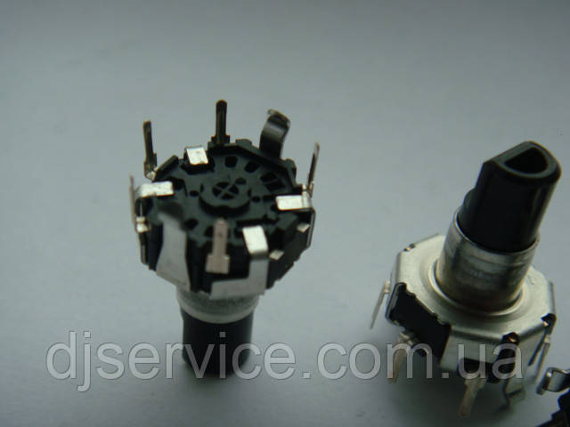 Энкодер ALPS (круглый) для пультов, 15mm, 30p для автомагнитол JVC Kdx, KENWOOD Ts