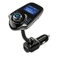 FM трансмиттер модулятор авто MP3 Bluetooth T10, фото 1
