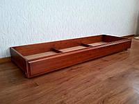 Деревянный ящик на колесиках (длина 180 см)