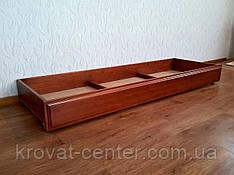 Дерев'яний ящик на гумових коліщатках (довжина 180 см) від виробника