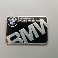 Наклейка/ Шильдик/ Емблема на авто BMW 59×39  мм.