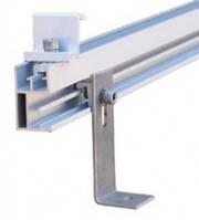 Комплект креплений для двух солнечных панелей 100 - 120 Вт