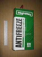 Антифриз HighWay ANTIFREEZE-40 LONG LIFE G11 (зеленый) 5кг 10002
