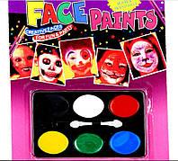 Краска для лица детская (аквагрим)
