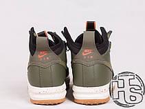Мужские кроссовки реплика Nike Lunar Force 1 Duckboot Green/Black 805899-008, фото 3