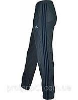 Мужские спортивные штаны Adidas копия из плащевки без подкладки
