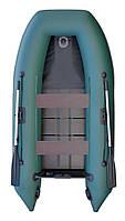 Лодка Parsun зеленая 300 с псевдокилем