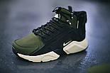 Зимние кроссовки Nike Huarache Winter ACRONYM Khaki. Живое фото (Реплика ААА+), фото 3