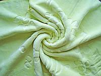 Одеяло-плед теплое, салатовый цвет