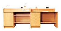 Стол демонстрационный для кабинета химии 2400х750х900 мм