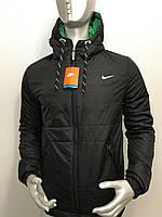 Мужская куртка Nike из плащевки копия, куртка осень