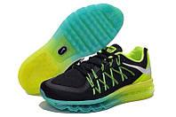 Мужские кроссовки Nike Air Max 2015 black-green