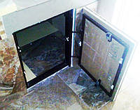 Скрытый люк под плитку 400х800 мм