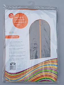Чехол для хранения одежды GRANCHIO плащевка серого цвета. Размер 60х110 cм