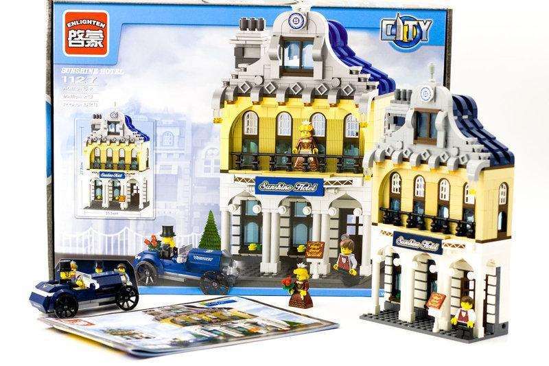 """Конструктор Brick 1127 """"Отель Саншайн"""" 628 деталей"""