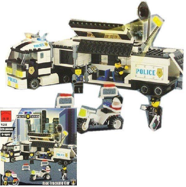 """Конструктор Brick 128 """"Полицейский фургон"""" 325 деталей"""