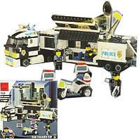 """Конструктор Brick 128 """"Полицейский фургон"""" 325 деталей, фото 1"""