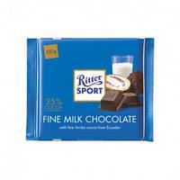 Шоколад Ritter Sport Edel-Vollmilch 35% (Альпийское молоко) Германия 100г