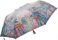 Женский зонт с ярким рисунком, полный автомат, антиветер ZEST Z23945-10