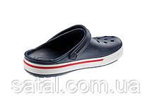 Кроксы. Crocs. Crocband Navy Clog. Темно-синий, фото 2