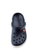 Кроксы. Crocs. Crocband Navy Clog. Темно-синий, фото 3