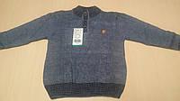 Вязанный свитер на пуговицах на 9-10 лет