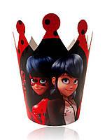 """Корона картонная детская """" Lady Bug """""""