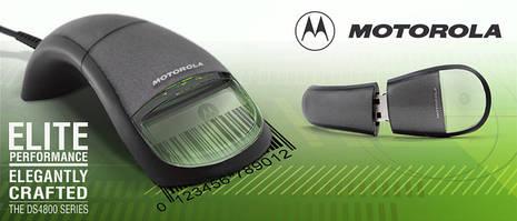 Інноваційна серія сканерів штрих Motorola DS4800
