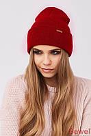 Женская зимняя теплая спортивная шапка