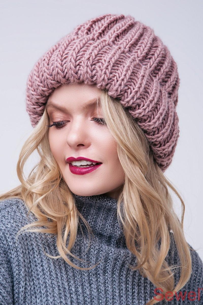 женская зимняя шапка фото