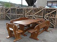 Комплект Стол и четыре лавки
