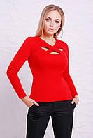 Жіноча червона кофта Nika