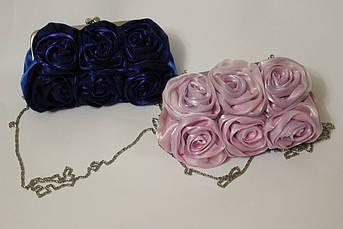 Клатч вечерний Букет роз