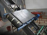 Подвесные магнитные плиты (подвесные железоотделители) с автоматической очисткой.