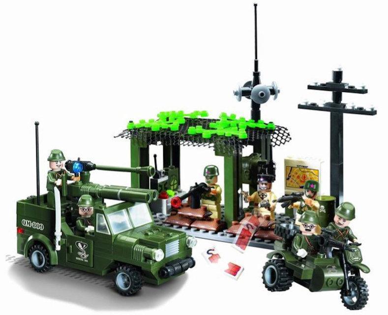 """Конструктор Brick 809 """"Разведгруппа"""" 285 деталей"""