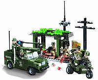 """Конструктор Brick 809 """"Разведгруппа"""" 285 деталей, фото 1"""