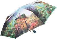 Женский зонт с ярким рисунком, полный автомат ZEST Z23945-17 Антиветер