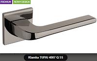 Дверная ручка  Tupai  4007 Q 5S черный никель