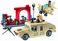 """Конструктор Brick 817 """"Военный Хаммер"""" 323 детали, фото 1"""