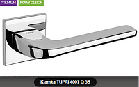 Дверная ручка  Tupai  4007 Q 5S хром