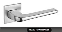 Дверная ручка  Tupai  4007 Q 5S хром кварцованый