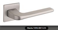 Дверная ручка  Tupai  4007 Q 5S никель кварцованый