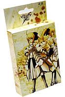 Карты игральные аниме Fate