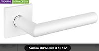 Дверная ручка  Tupai  4002 Q 5S  белая