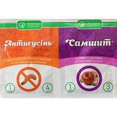 Средство от болезней и вредителей Антигусинь 4мл+Самшит 3мл