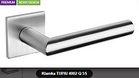 Дверная ручка  Tupai  4002 Q 5S хром кварцованый
