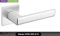 Дверная ручка  Tupai  3095 Q 5S хром кварцованый