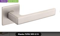 Дверная ручка  Tupai  3095 Q 5S никель кварцованый
